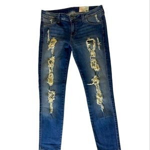Siwy distressed skinny jeans size 29 Hannah style
